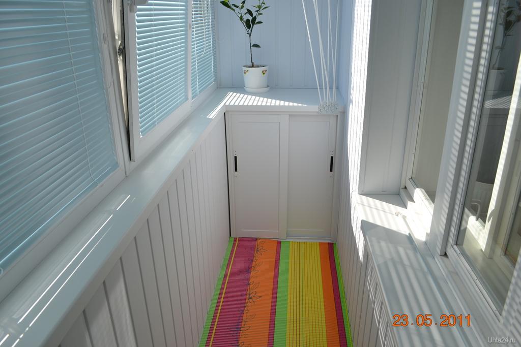 Как сделать шкафчики для балконов.